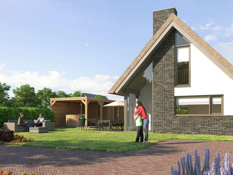 Impressie van de 4-persoons wellness villa 4ELW op Landal Berger Duin